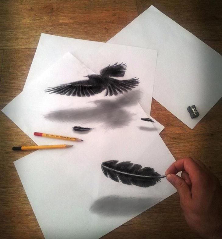 35 неймовірних 3D-малюнків олівцем - фото 13
