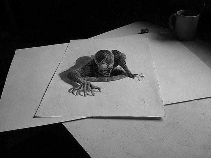 35 неймовірних 3D-малюнків олівцем - фото 16