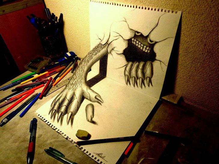 35 неймовірних 3D-малюнків олівцем - фото 20
