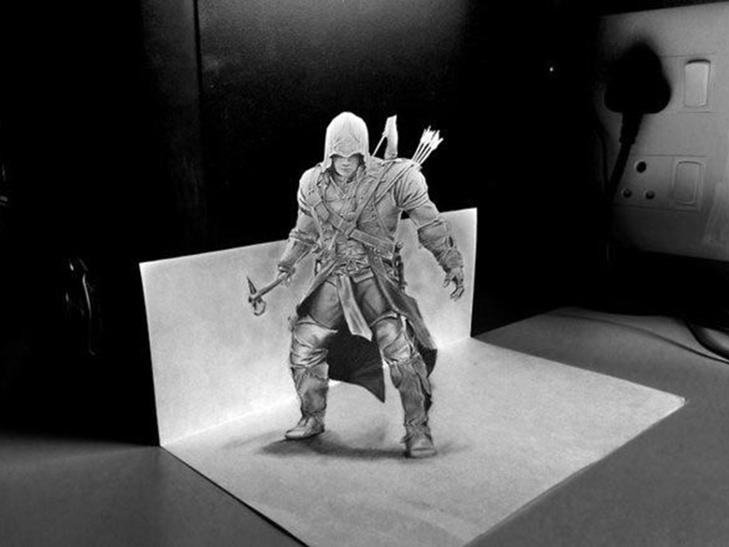 35 неймовірних 3D-малюнків олівцем - фото 23