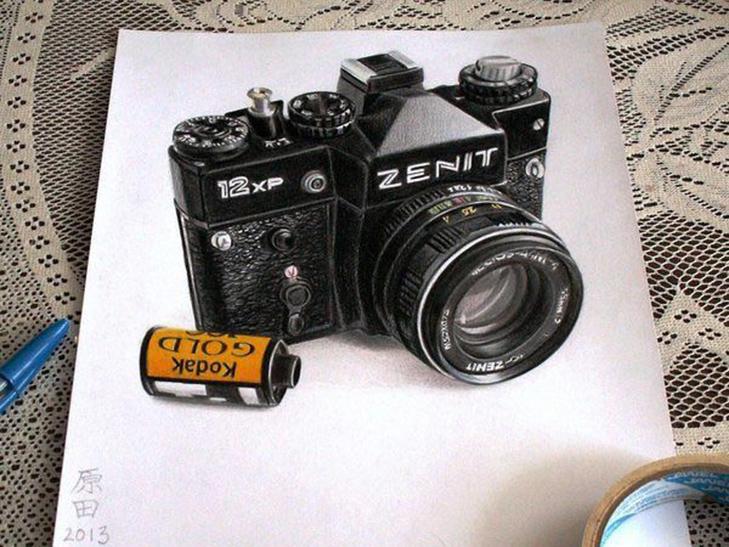 35 неймовірних 3D-малюнків олівцем - фото 24