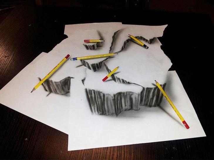 35 неймовірних 3D-малюнків олівцем - фото 32