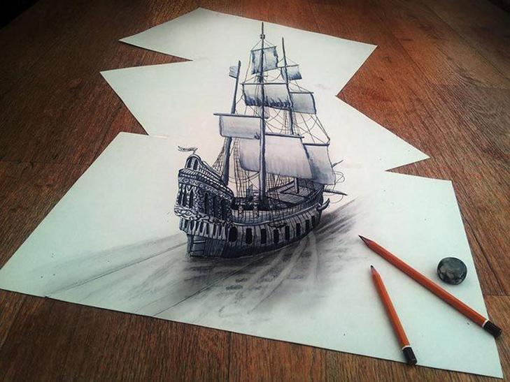 35 неймовірних 3D-малюнків олівцем - фото 14