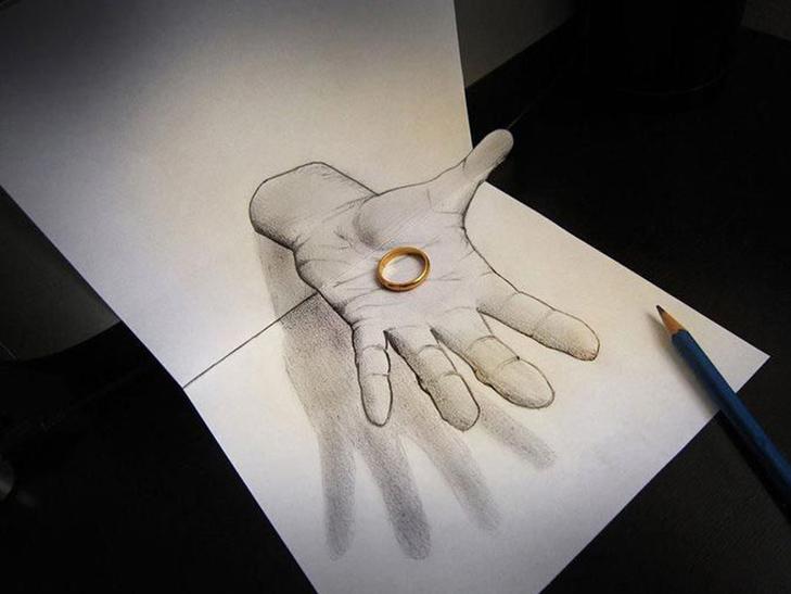 35 неймовірних 3D-малюнків олівцем - фото 34