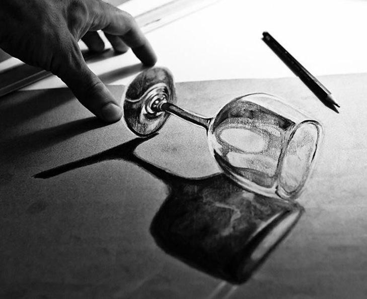 35 неймовірних 3D-малюнків олівцем - фото 22