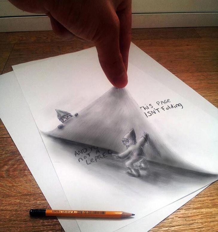 35 неймовірних 3D-малюнків олівцем - фото 27