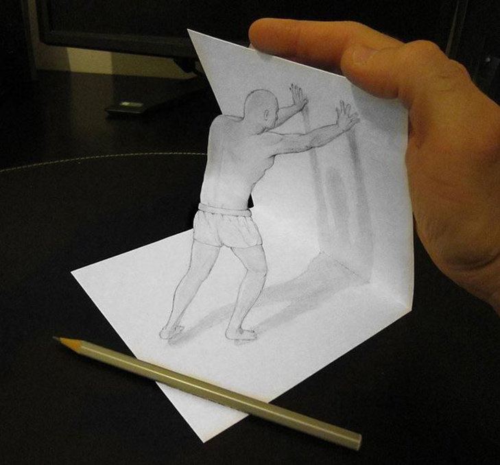 Как сделать рисунок на листе видео