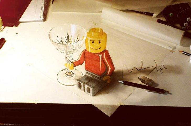 35 неймовірних 3D-малюнків олівцем - фото 8