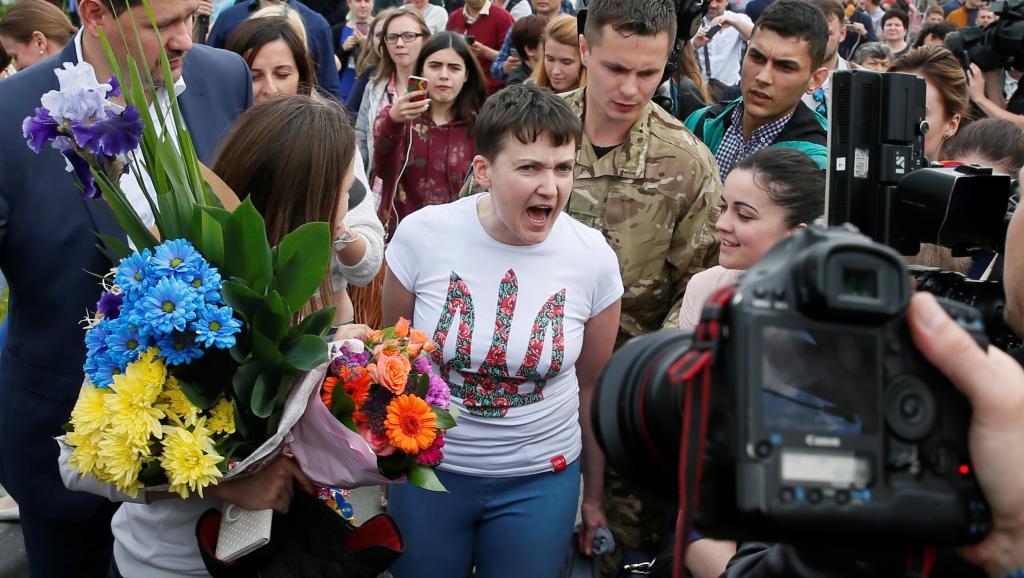 Як Надя Савченко пухне від голоду - фото 9