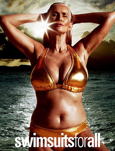 Найстарша модель Sports Illustrated: 56-річна Нікола Гріффін позує у бікіні - фото 1