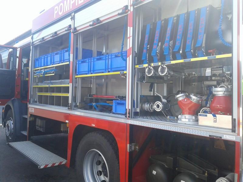 Вінницькі рятувальники їздили в Молдову на відкриття пожежної частини - фото 1