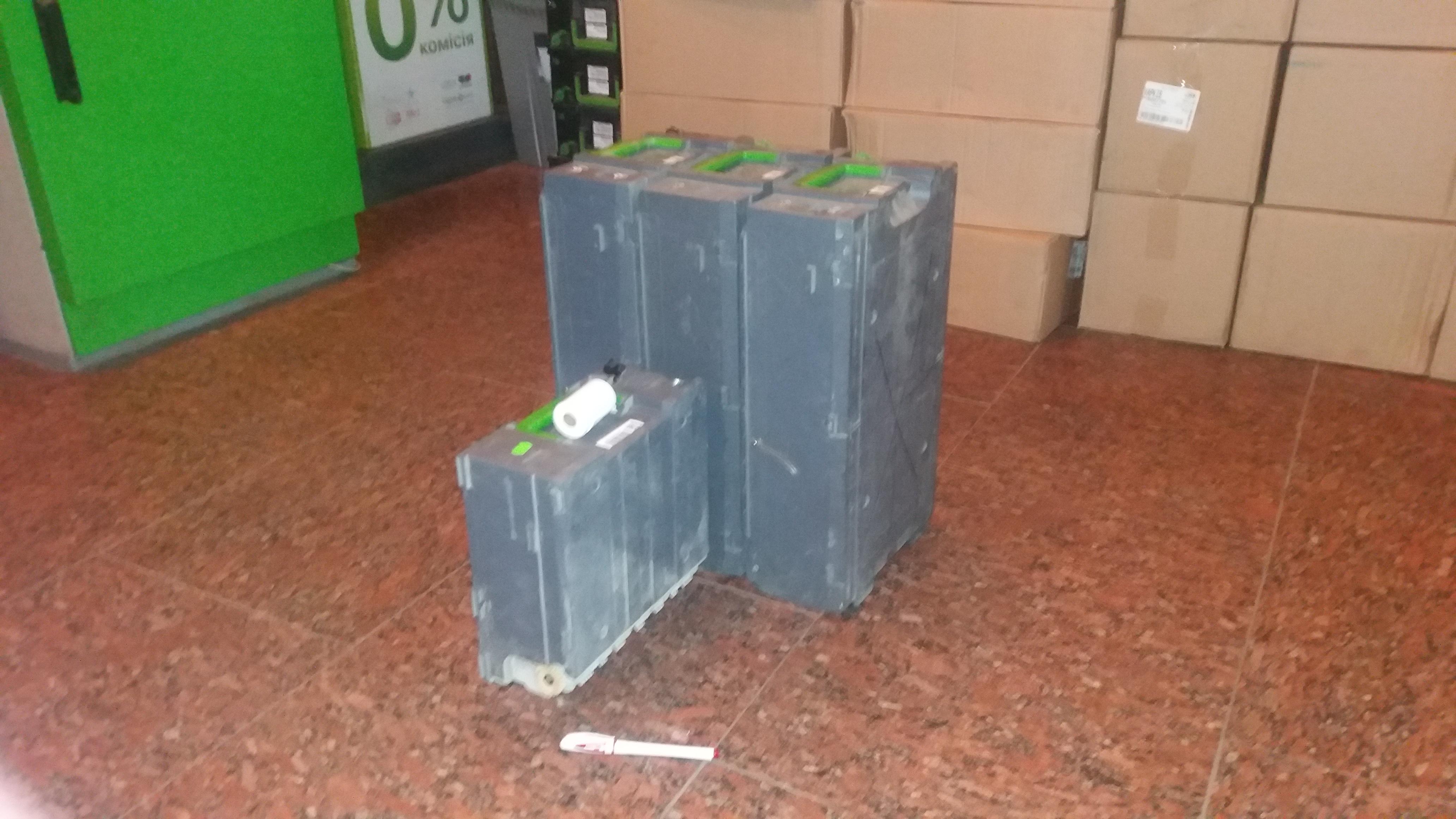 У банку Коломойського думають, що харківські нападники на інкасаторів втікали на вантажівці  - фото 1