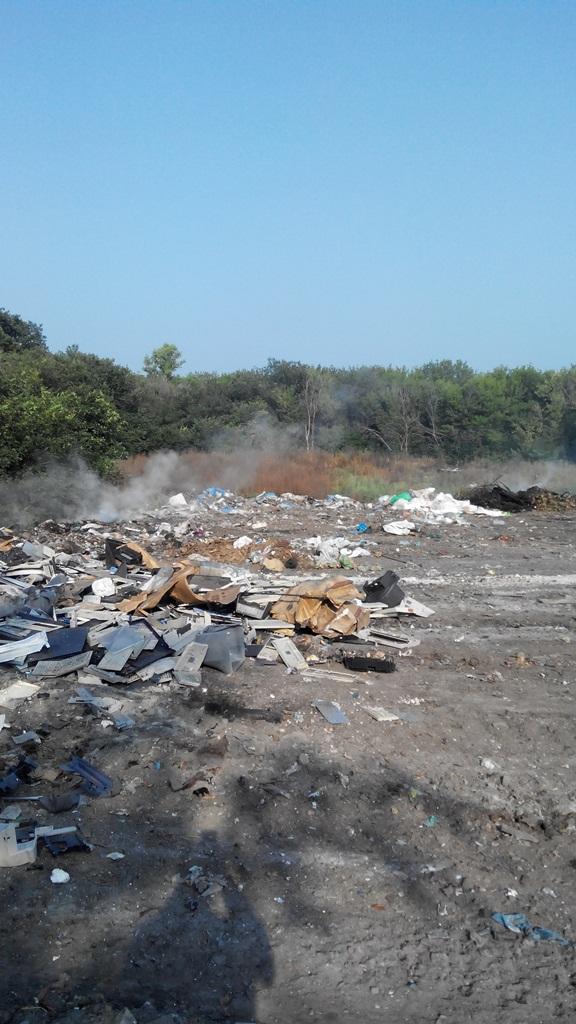 На Київщині загорілося сміттєзвалище - фото 2