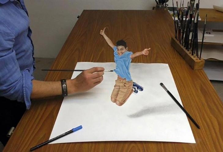 25 феноменальних 3D-малюнків, які гарантовано обдурять ваш мозок - фото 17