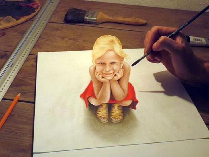 25 феноменальних 3D-малюнків, які гарантовано обдурять ваш мозок - фото 13