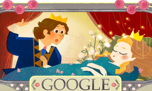 Google привітав Шарля Перро яскравим дудлем із Попелюшкою  - фото 2