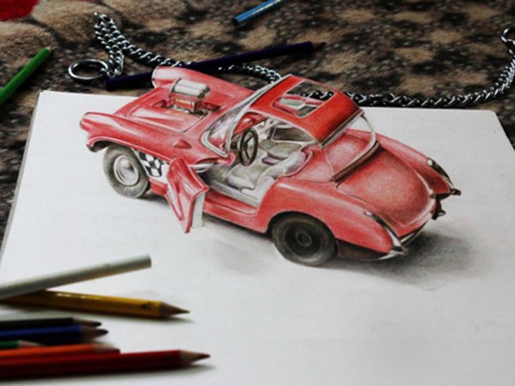 35 неймовірних 3D-малюнків олівцем - фото 10