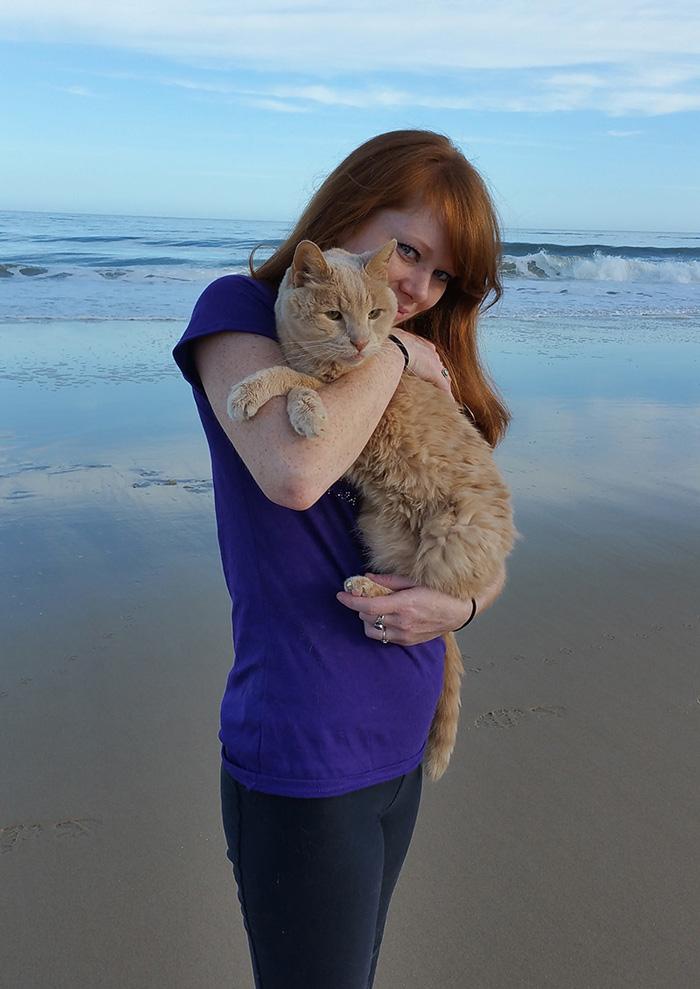 Як жінка врятувала 21-річного кота, взявши його з притулку - фото 1