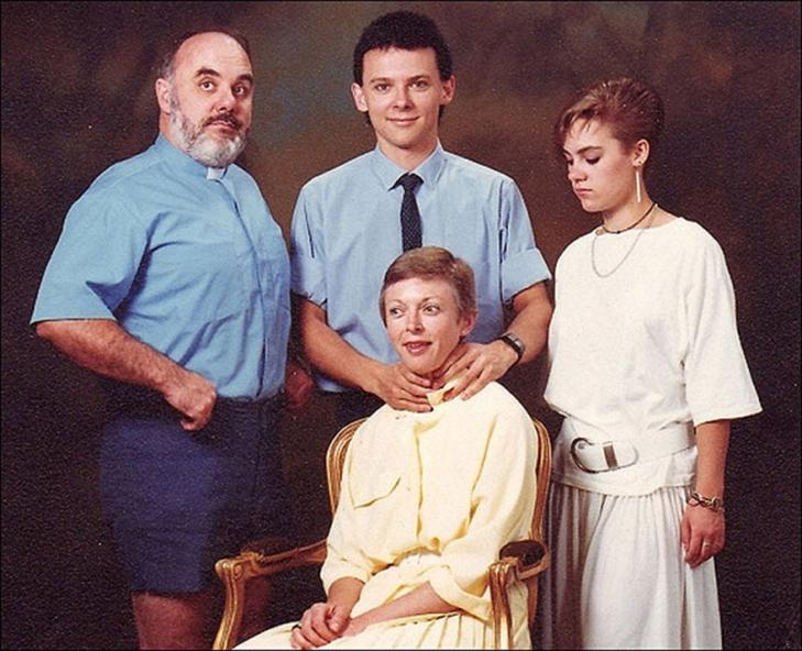 35 дуже дивних сімейних фото - фото 30