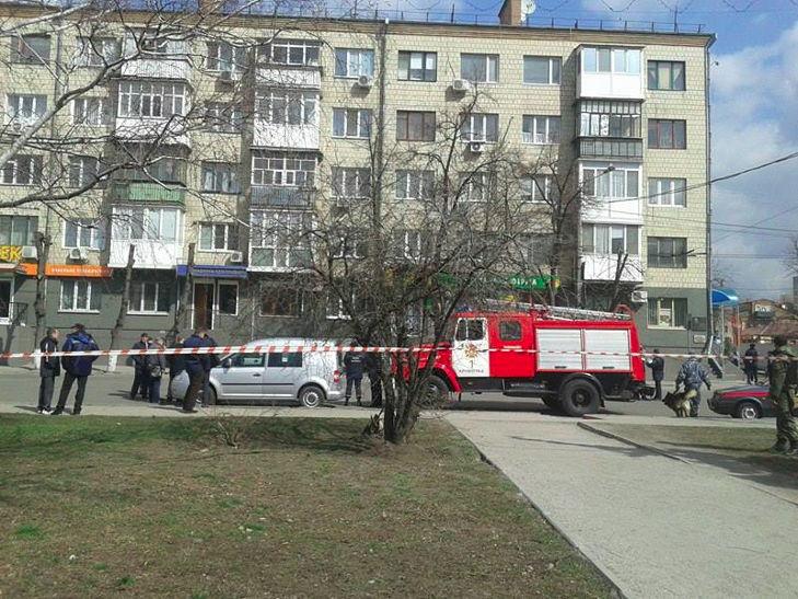 У центрі Кіровограда стався вибух, постраждала людина - фото 1