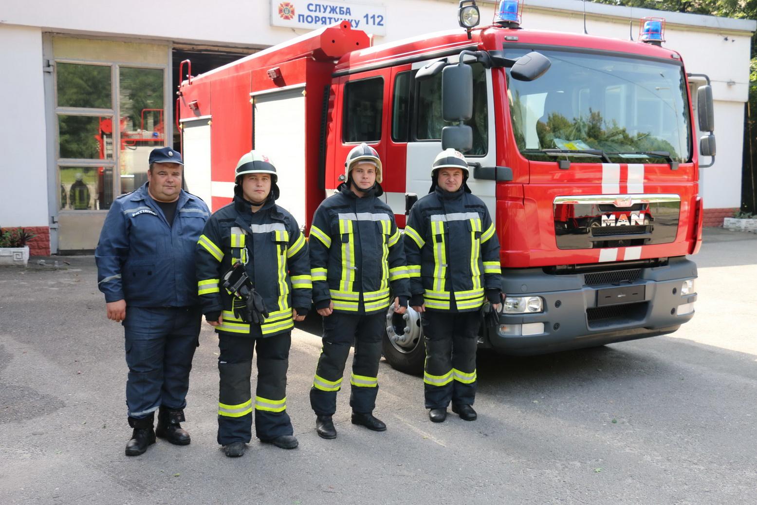 Харківські пожежні отримали ультрасучасну машину - фото 1