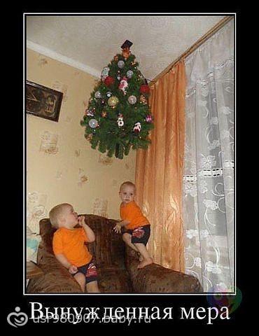 Ограждение елки от детей 39