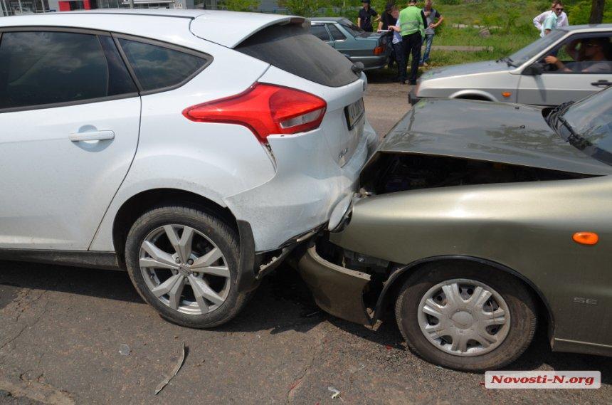 ДТП на в'їзді до Миколаєва сталася через зграю собак