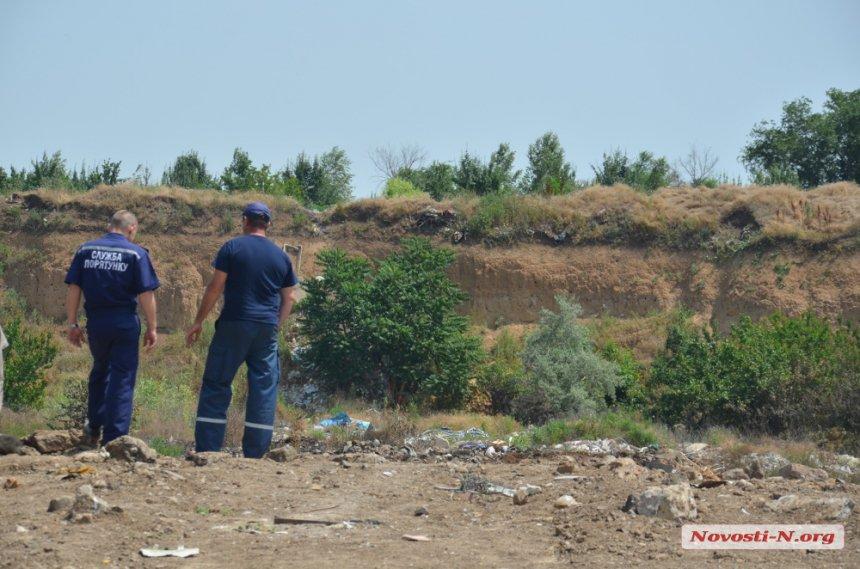 У Миколаєві знов горіло стихійне звалище