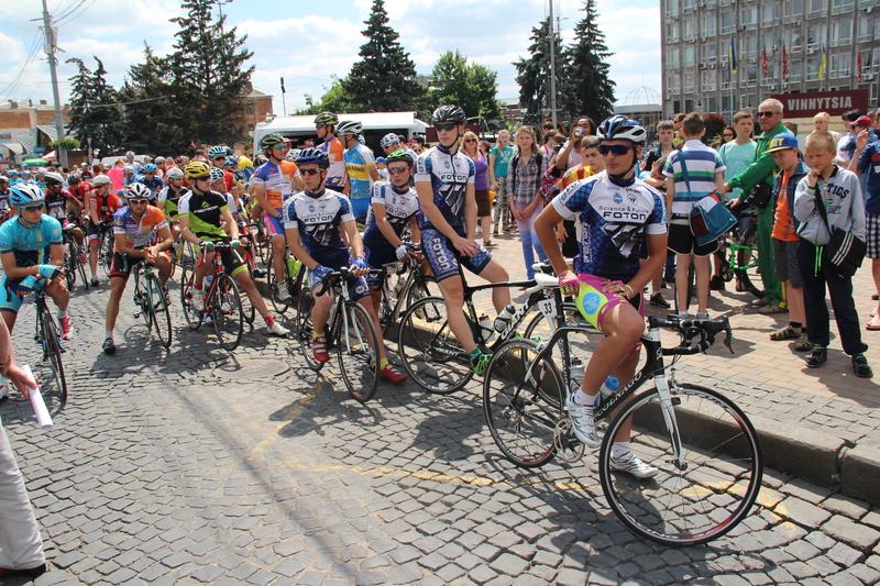 У Вінниці стартували міжнародні велогонки - фото 1