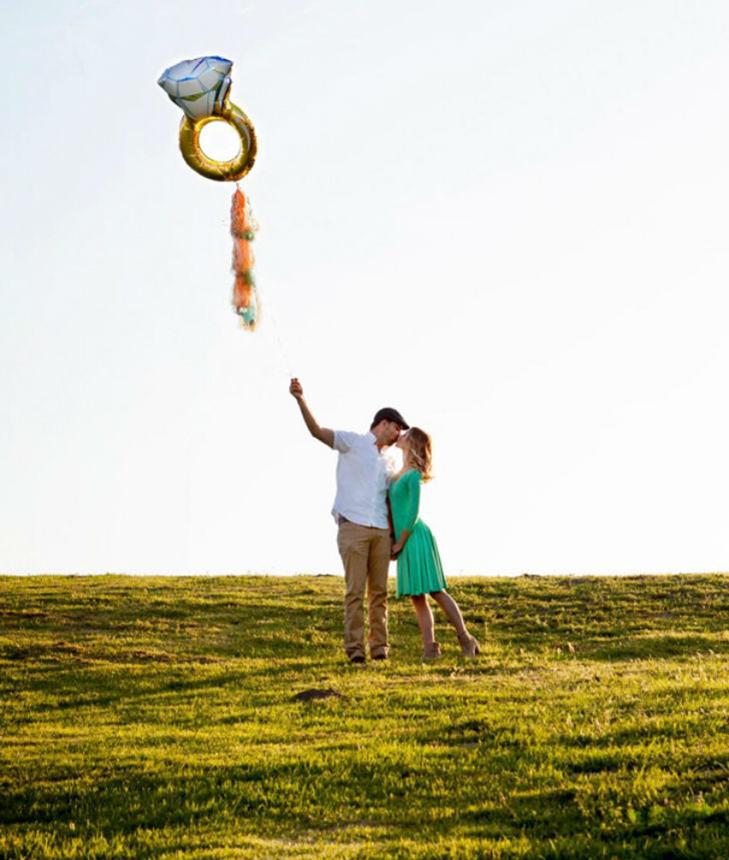 20 креативних ідей для фотографій заручин - фото 12