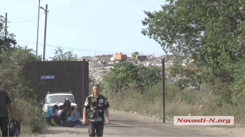 У Миколаєві вже почали відвантажувати токсичне львівське сміття - фото 2