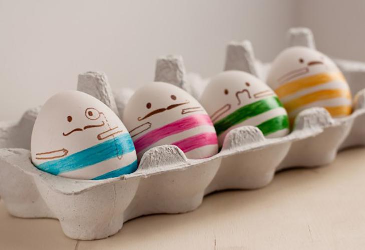35 креативних ідей для Великодніх яєць - фото 27