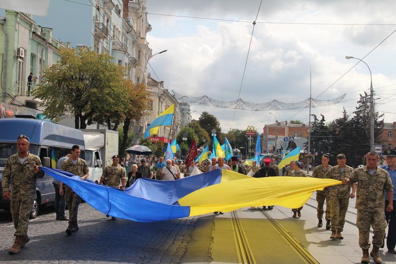 Як десантура та спецназ відзначили День ВДВ у Вінниці - фото 5