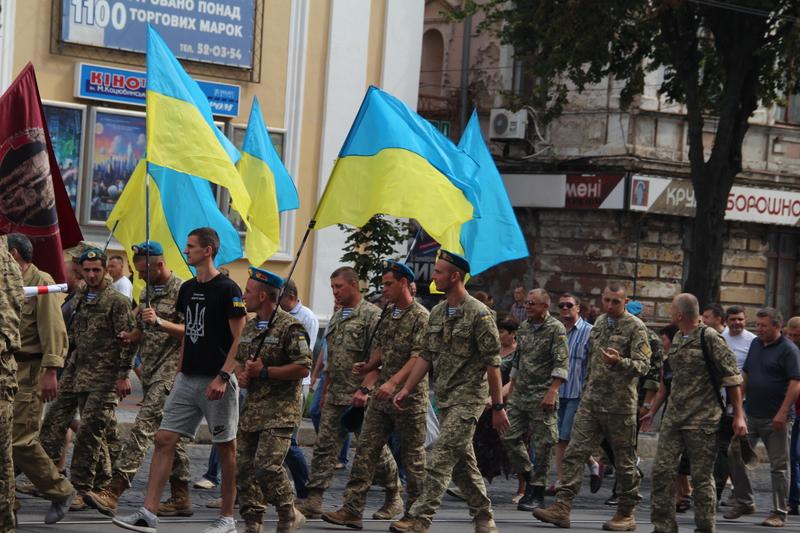 Як десантура та спецназ відзначили День ВДВ у Вінниці - фото 7