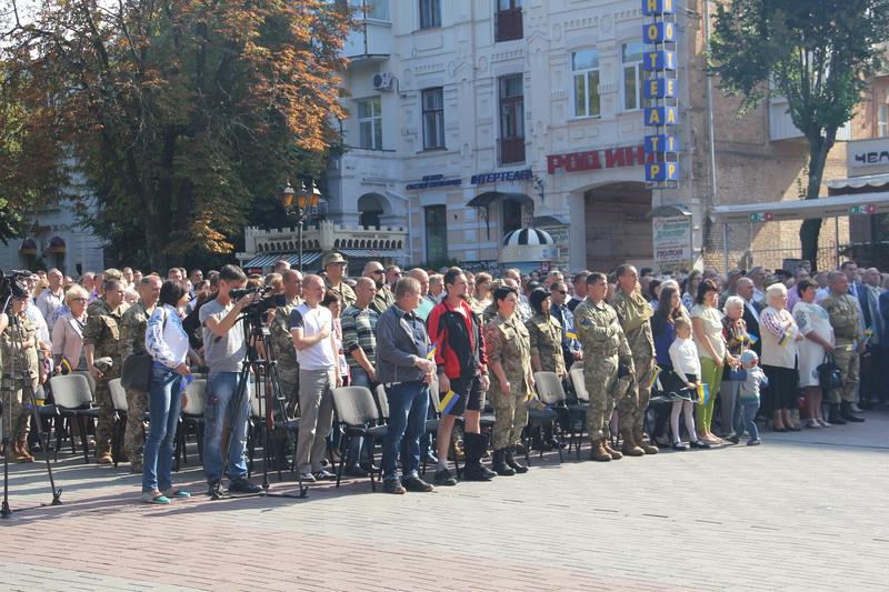 Вінничани приєднались до Всеукраїнського виконання гімну - фото 2