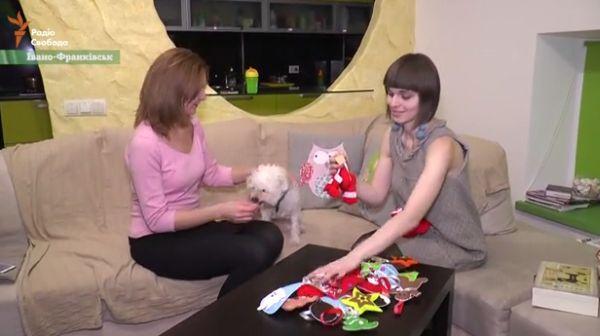 Мисткиня з Івано-Франківська радує різдвяними прикрасами з тканини і ниток  - фото 2