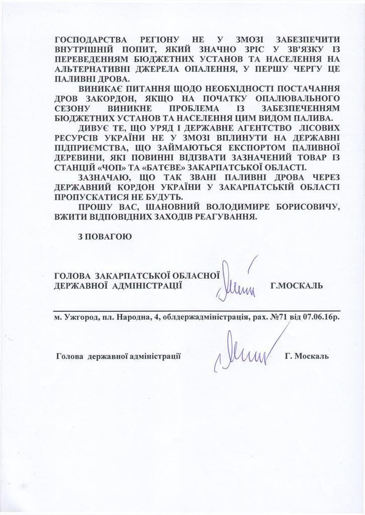 Очільник Закарпаття звинувачує підприємства Хмельниччини в контрабанді лісу - фото 2