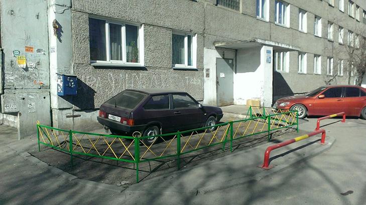 30 суворих покарань для тих, хто паркується, як мудак - фото 19