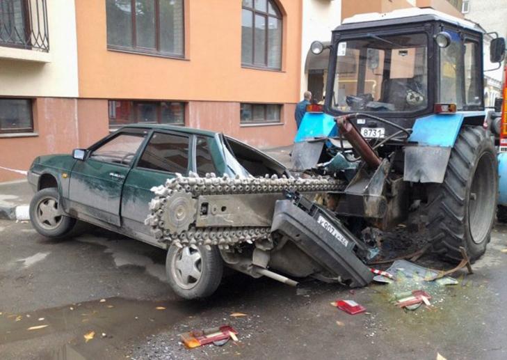 30 суворих покарань для тих, хто паркується, як мудак - фото 9