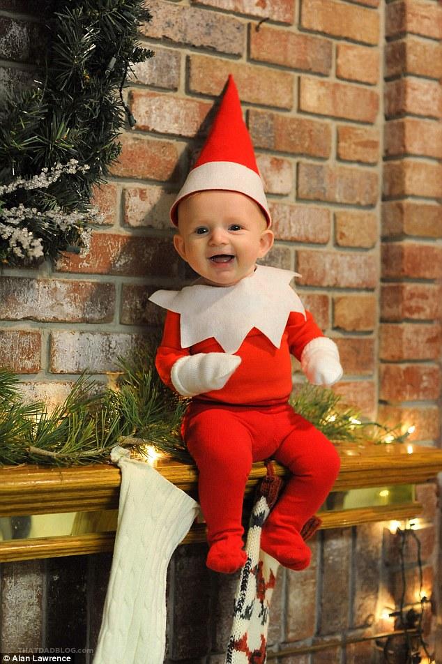 4-місячний малюк-ельф підірвав мережу своєю різдвяною фотосесією  - фото 6