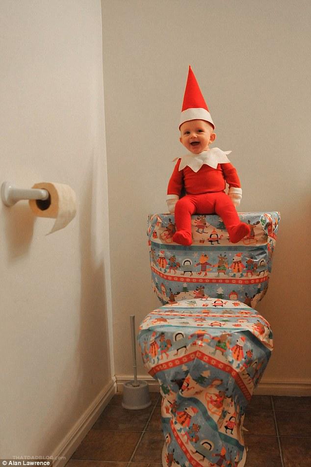 4-місячний малюк-ельф підірвав мережу своєю різдвяною фотосесією  - фото 3
