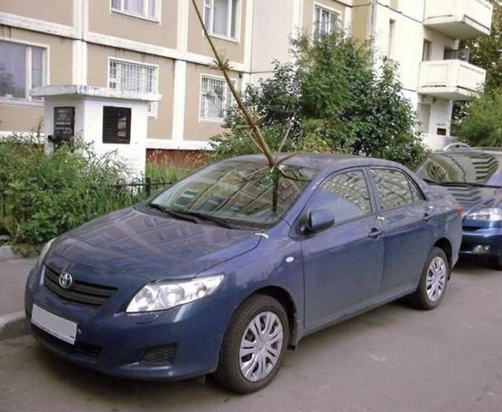 30 суворих покарань для тих, хто паркується, як мудак - фото 28