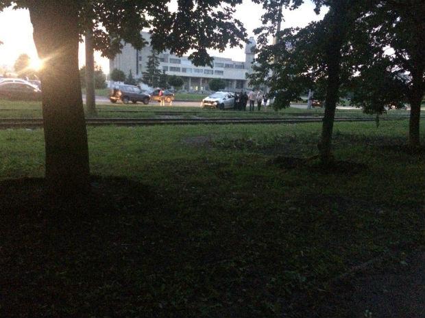 Харківські патрульні потрапили у ДТП - фото 1