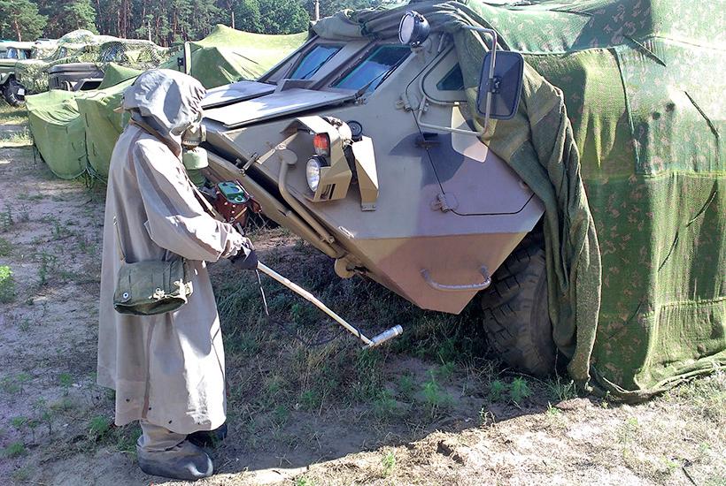 У Харкові військові попрактикувалися у хімічній розвідці  - фото 2