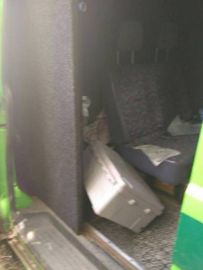 Напад на інкасаторів на Харківщині: фото з місця події  - фото 1