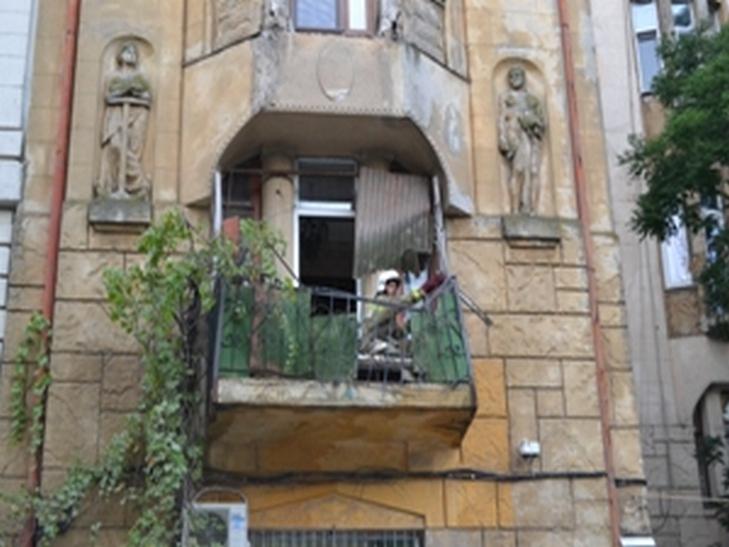 Вцентре Одессы обвалились два балкона
