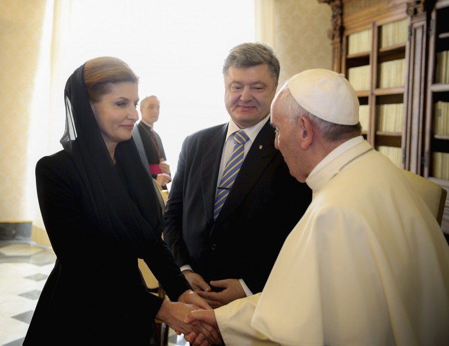 Як Порошенко зустрічався з Папою  - фото 4