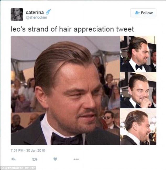 Пасмо волосся ДіКапріо, яке вибилося з зачіски на врученні SAG, підірвало мережу - фото 6