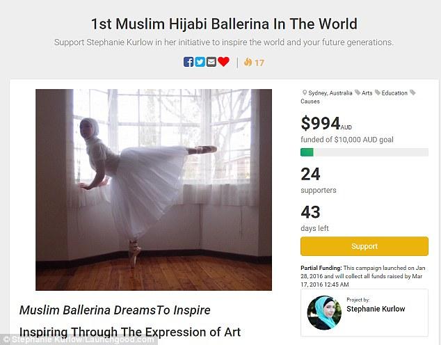 Як виглядає перша у світі мусульманська балерина в хіджабі  - фото 1