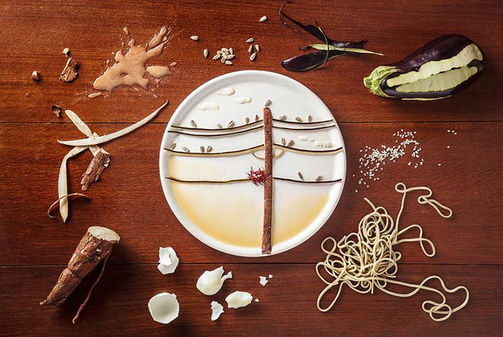 Витвори мистецтва від дівчини, яка любить грати з їжею - фото 1